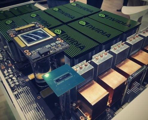 NVIDIA DGX-2 na ISC18