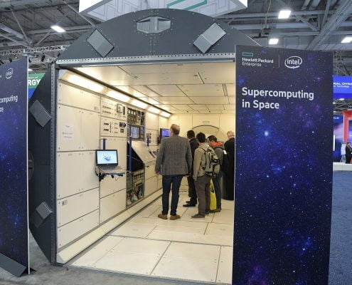 HPE booth