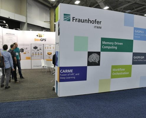 Fraunhofer booth