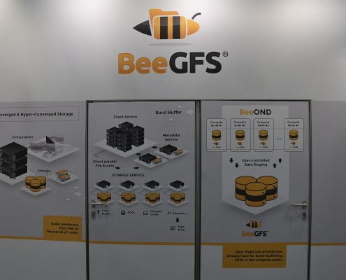 BeeGFS booth