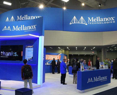 Mellanox booth
