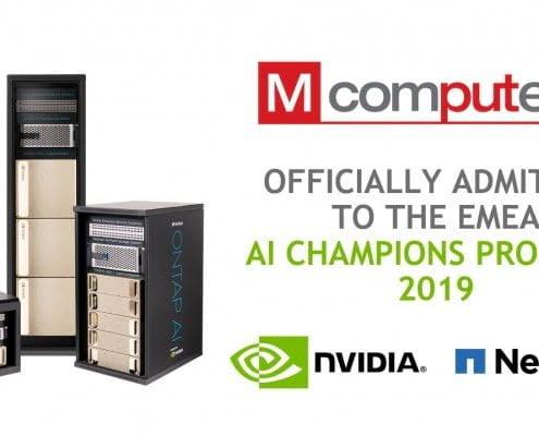 M Computers NVIDIA AI Champion 2019
