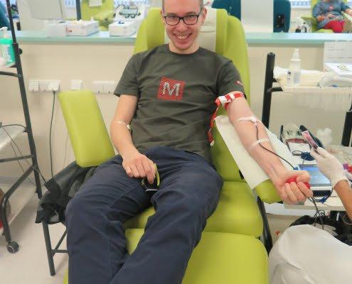 Darování krve 2019