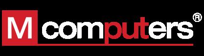 Logo M Computers bila